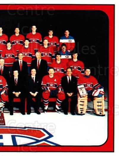 1988-89 Panini Stickers #264 Montreal Canadiens, Team Photo<br/>4 In Stock - $1.00 each - <a href=https://centericecollectibles.foxycart.com/cart?name=1988-89%20Panini%20Stickers%20%23264%20Montreal%20Canadi...&price=$1.00&code=139302 class=foxycart> Buy it now! </a>
