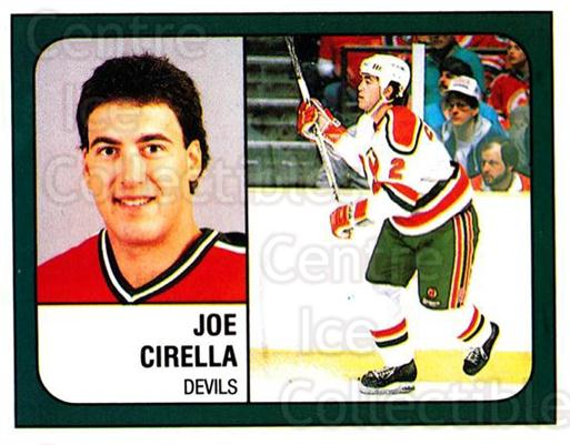 1988-89 Panini Stickers #268 Joe Cirella<br/>5 In Stock - $1.00 each - <a href=https://centericecollectibles.foxycart.com/cart?name=1988-89%20Panini%20Stickers%20%23268%20Joe%20Cirella...&quantity_max=5&price=$1.00&code=139306 class=foxycart> Buy it now! </a>