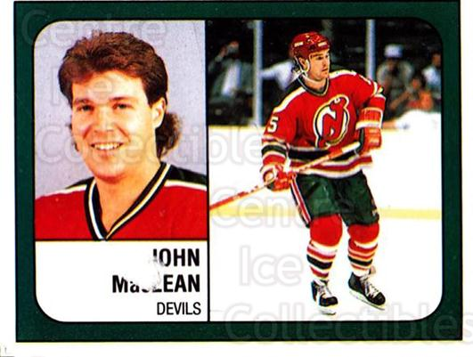 1988-89 Panini Stickers #274 John MacLean<br/>5 In Stock - $1.00 each - <a href=https://centericecollectibles.foxycart.com/cart?name=1988-89%20Panini%20Stickers%20%23274%20John%20MacLean...&quantity_max=5&price=$1.00&code=139313 class=foxycart> Buy it now! </a>