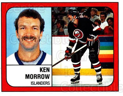1988-89 Panini Stickers #285 Ken Morrow<br/>5 In Stock - $1.00 each - <a href=https://centericecollectibles.foxycart.com/cart?name=1988-89%20Panini%20Stickers%20%23285%20Ken%20Morrow...&quantity_max=5&price=$1.00&code=139325 class=foxycart> Buy it now! </a>