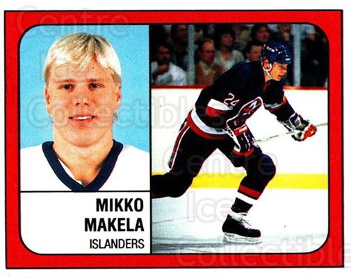 1988-89 Panini Stickers #291 Mikko Makela<br/>4 In Stock - $1.00 each - <a href=https://centericecollectibles.foxycart.com/cart?name=1988-89%20Panini%20Stickers%20%23291%20Mikko%20Makela...&quantity_max=4&price=$1.00&code=139332 class=foxycart> Buy it now! </a>