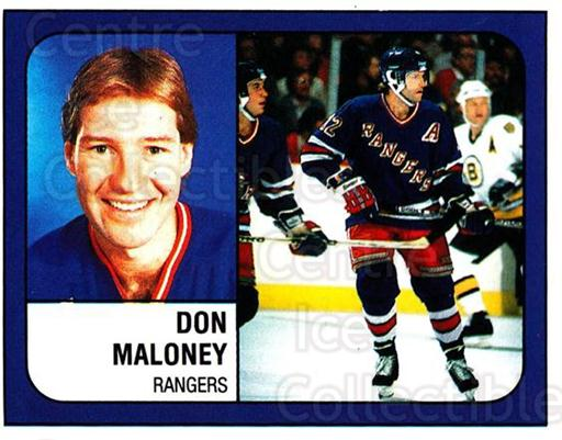 1988-89 Panini Stickers #308 Don Maloney<br/>5 In Stock - $1.00 each - <a href=https://centericecollectibles.foxycart.com/cart?name=1988-89%20Panini%20Stickers%20%23308%20Don%20Maloney...&quantity_max=5&price=$1.00&code=139351 class=foxycart> Buy it now! </a>