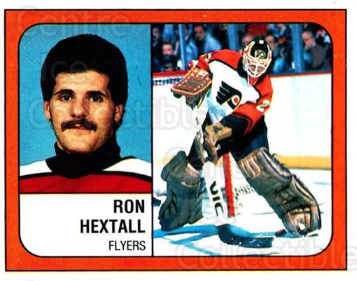 1988-89 Panini Stickers #315 Ron Hextall<br/>2 In Stock - $1.00 each - <a href=https://centericecollectibles.foxycart.com/cart?name=1988-89%20Panini%20Stickers%20%23315%20Ron%20Hextall...&quantity_max=2&price=$1.00&code=139359 class=foxycart> Buy it now! </a>
