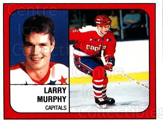 1988-89 Panini Stickers #367 Larry Murphy<br/>3 In Stock - $1.00 each - <a href=https://centericecollectibles.foxycart.com/cart?name=1988-89%20Panini%20Stickers%20%23367%20Larry%20Murphy...&quantity_max=3&price=$1.00&code=139410 class=foxycart> Buy it now! </a>