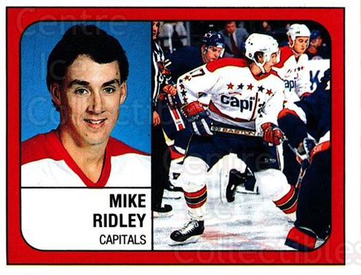 1988-89 Panini Stickers #374 Mike Ridley<br/>5 In Stock - $1.00 each - <a href=https://centericecollectibles.foxycart.com/cart?name=1988-89%20Panini%20Stickers%20%23374%20Mike%20Ridley...&quantity_max=5&price=$1.00&code=139417 class=foxycart> Buy it now! </a>