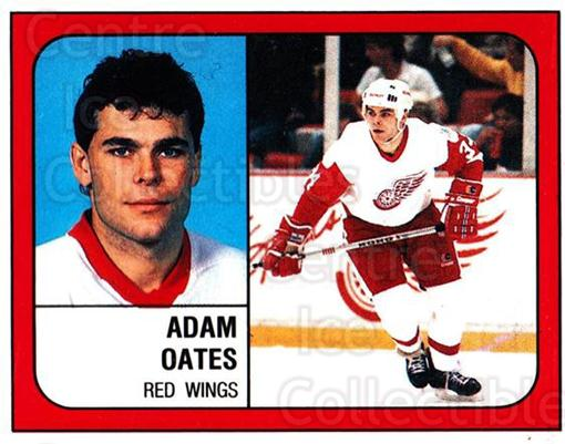 1988-89 Panini Stickers #45 Adam Oates<br/>5 In Stock - $2.00 each - <a href=https://centericecollectibles.foxycart.com/cart?name=1988-89%20Panini%20Stickers%20%2345%20Adam%20Oates...&quantity_max=5&price=$2.00&code=139454 class=foxycart> Buy it now! </a>