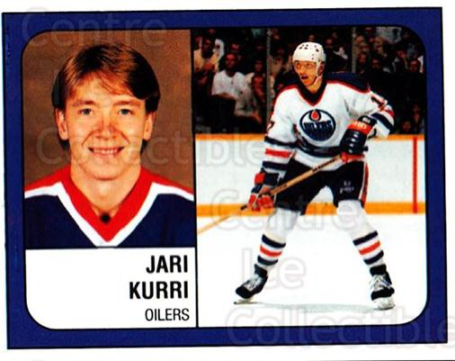 1988-89 Panini Stickers #59 Jari Kurri<br/>2 In Stock - $3.00 each - <a href=https://centericecollectibles.foxycart.com/cart?name=1988-89%20Panini%20Stickers%20%2359%20Jari%20Kurri...&quantity_max=2&price=$3.00&code=139466 class=foxycart> Buy it now! </a>