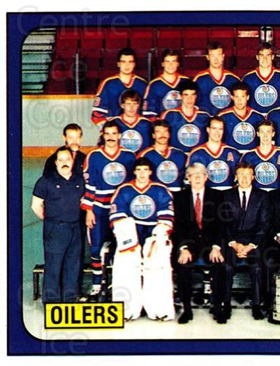 1988-89 Panini Stickers #64 Edmonton Oilers, Team Photo<br/>3 In Stock - $2.00 each - <a href=https://centericecollectibles.foxycart.com/cart?name=1988-89%20Panini%20Stickers%20%2364%20Edmonton%20Oilers...&price=$2.00&code=139472 class=foxycart> Buy it now! </a>