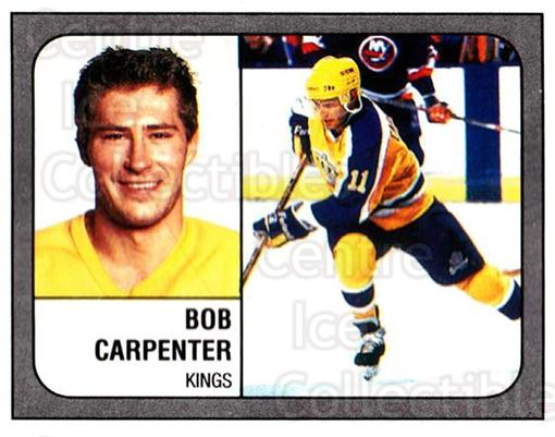 1988-89 Panini Stickers #74 Bob Carpenter<br/>5 In Stock - $1.00 each - <a href=https://centericecollectibles.foxycart.com/cart?name=1988-89%20Panini%20Stickers%20%2374%20Bob%20Carpenter...&quantity_max=5&price=$1.00&code=139482 class=foxycart> Buy it now! </a>