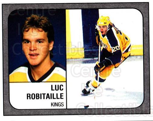1988-89 Panini Stickers #78 Luc Robitaille<br/>4 In Stock - $2.00 each - <a href=https://centericecollectibles.foxycart.com/cart?name=1988-89%20Panini%20Stickers%20%2378%20Luc%20Robitaille...&quantity_max=4&price=$2.00&code=139486 class=foxycart> Buy it now! </a>