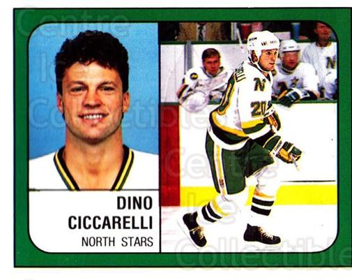 1988-89 Panini Stickers #93 Dino Ciccarelli<br/>5 In Stock - $1.00 each - <a href=https://centericecollectibles.foxycart.com/cart?name=1988-89%20Panini%20Stickers%20%2393%20Dino%20Ciccarelli...&quantity_max=5&price=$1.00&code=139501 class=foxycart> Buy it now! </a>