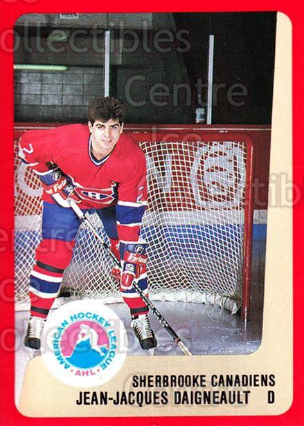 1988-89 ProCards AHL #270 JJ Daigneault<br/>13 In Stock - $2.00 each - <a href=https://centericecollectibles.foxycart.com/cart?name=1988-89%20ProCards%20AHL%20%23270%20JJ%20Daigneault...&price=$2.00&code=139518 class=foxycart> Buy it now! </a>
