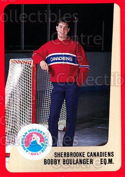 1988-89 ProCards AHL #275 Bobby Boulanger<br/>12 In Stock - $2.00 each - <a href=https://centericecollectibles.foxycart.com/cart?name=1988-89%20ProCards%20AHL%20%23275%20Bobby%20Boulanger...&price=$2.00&code=139523 class=foxycart> Buy it now! </a>