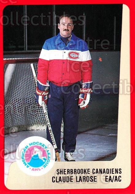 1988-89 ProCards AHL #280 Claude Larose<br/>13 In Stock - $2.00 each - <a href=https://centericecollectibles.foxycart.com/cart?name=1988-89%20ProCards%20AHL%20%23280%20Claude%20Larose...&price=$2.00&code=139529 class=foxycart> Buy it now! </a>
