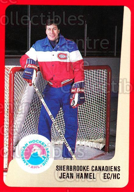 1988-89 ProCards AHL #287 Jean Hamel<br/>13 In Stock - $2.00 each - <a href=https://centericecollectibles.foxycart.com/cart?name=1988-89%20ProCards%20AHL%20%23287%20Jean%20Hamel...&price=$2.00&code=139536 class=foxycart> Buy it now! </a>