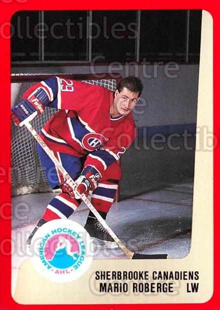 1988-89 ProCards AHL #288 Mario Roberge<br/>11 In Stock - $2.00 each - <a href=https://centericecollectibles.foxycart.com/cart?name=1988-89%20ProCards%20AHL%20%23288%20Mario%20Roberge...&price=$2.00&code=139538 class=foxycart> Buy it now! </a>