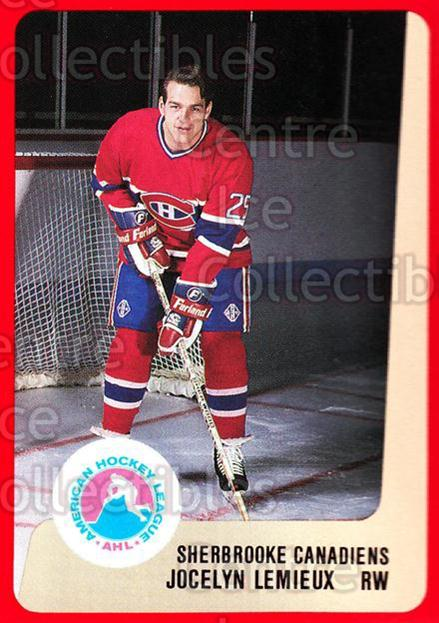 1988-89 ProCards AHL #289 Jocelyn Lemieux<br/>6 In Stock - $2.00 each - <a href=https://centericecollectibles.foxycart.com/cart?name=1988-89%20ProCards%20AHL%20%23289%20Jocelyn%20Lemieux...&price=$2.00&code=139539 class=foxycart> Buy it now! </a>