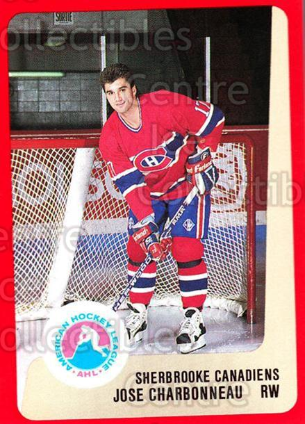 1988-89 ProCards AHL #293 Jose Charbonneau<br/>3 In Stock - $2.00 each - <a href=https://centericecollectibles.foxycart.com/cart?name=1988-89%20ProCards%20AHL%20%23293%20Jose%20Charbonnea...&price=$2.00&code=139543 class=foxycart> Buy it now! </a>