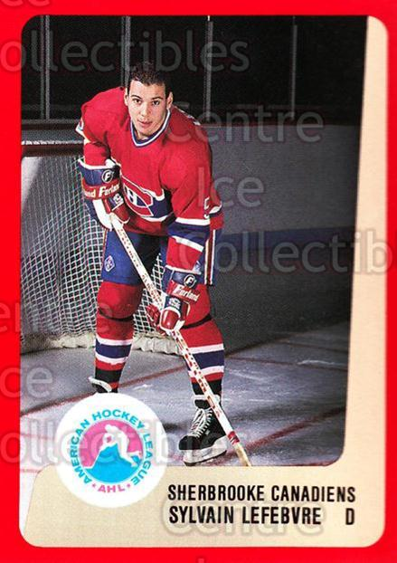 1988-89 ProCards AHL #295 Sylvain Lefebvre<br/>8 In Stock - $2.00 each - <a href=https://centericecollectibles.foxycart.com/cart?name=1988-89%20ProCards%20AHL%20%23295%20Sylvain%20Lefebvr...&quantity_max=8&price=$2.00&code=139545 class=foxycart> Buy it now! </a>