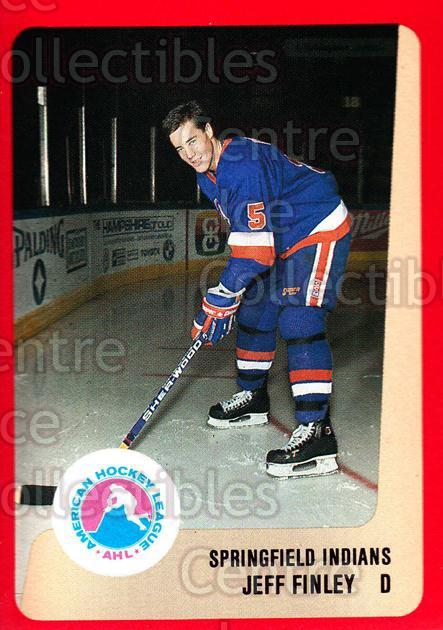 1988-89 ProCards AHL #306 Jeff Finley<br/>6 In Stock - $2.00 each - <a href=https://centericecollectibles.foxycart.com/cart?name=1988-89%20ProCards%20AHL%20%23306%20Jeff%20Finley...&quantity_max=6&price=$2.00&code=139558 class=foxycart> Buy it now! </a>
