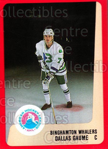 <a href=index.aspx?SetName=1988-89%20ProCards%20AHL>1988-89 ProCards AHL</a> #61 <a href=index.aspx?PlayerName=Dallas%20Gaume> Dallas Gaume</a><br/>8 in stock - $2.00 each - <a href=https://centericecollectibles.foxycart.com/cart?name=1988-89%20ProCards%20AHL%20%2361%20Dallas%20Gaume...&price=$2.00&code=139631 class=foxycart> Buy it now! </a>