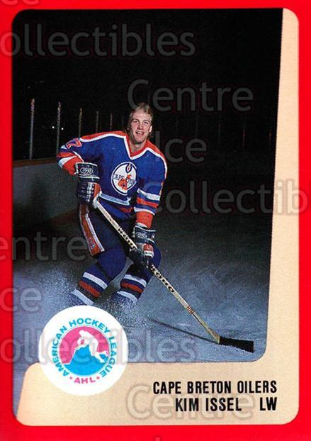 1988-89 ProCards AHL #86 Kim Issel<br/>10 In Stock - $2.00 each - <a href=https://centericecollectibles.foxycart.com/cart?name=1988-89%20ProCards%20AHL%20%2386%20Kim%20Issel...&quantity_max=10&price=$2.00&code=139656 class=foxycart> Buy it now! </a>