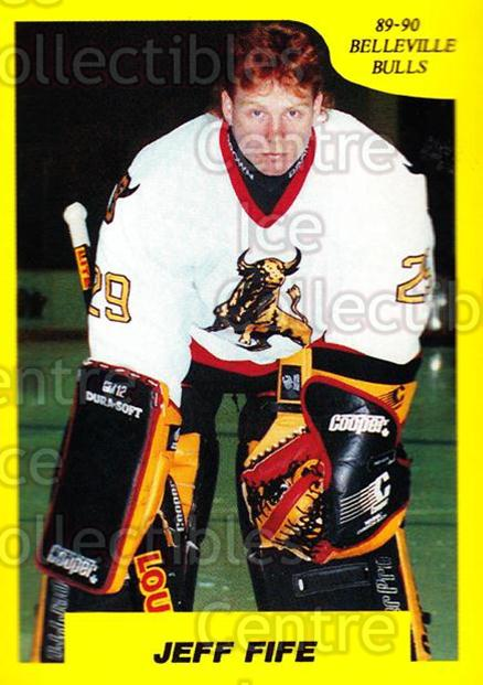 1989-90 7th Inning Sketch OHL #93 Jeff Fife<br/>6 In Stock - $2.00 each - <a href=https://centericecollectibles.foxycart.com/cart?name=1989-90%207th%20Inning%20Sketch%20OHL%20%2393%20Jeff%20Fife...&quantity_max=6&price=$2.00&code=139701 class=foxycart> Buy it now! </a>