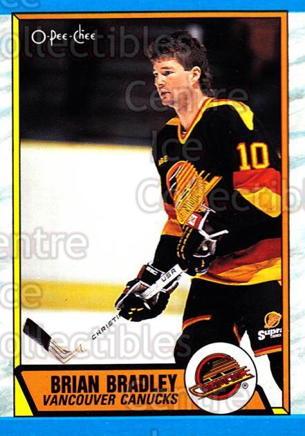 1989-90 O-Pee-Chee #287 Brian Bradley<br/>6 In Stock - $1.00 each - <a href=https://centericecollectibles.foxycart.com/cart?name=1989-90%20O-Pee-Chee%20%23287%20Brian%20Bradley...&quantity_max=6&price=$1.00&code=139752 class=foxycart> Buy it now! </a>