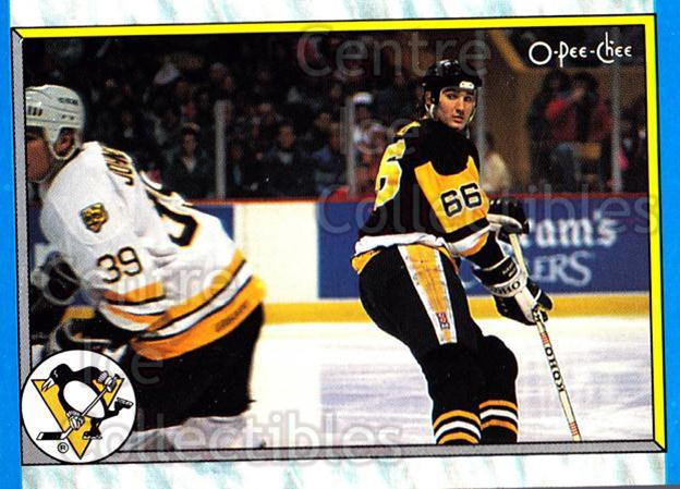 1989-90 O-Pee-Chee #312 Mario Lemieux<br/>9 In Stock - $2.00 each - <a href=https://centericecollectibles.foxycart.com/cart?name=1989-90%20O-Pee-Chee%20%23312%20Mario%20Lemieux...&price=$2.00&code=139779 class=foxycart> Buy it now! </a>