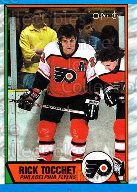 1989-90 O-Pee-Chee #80 Rick Tocchet<br/>8 In Stock - $1.00 each - <a href=https://centericecollectibles.foxycart.com/cart?name=1989-90%20O-Pee-Chee%20%2380%20Rick%20Tocchet...&quantity_max=8&price=$1.00&code=139844 class=foxycart> Buy it now! </a>