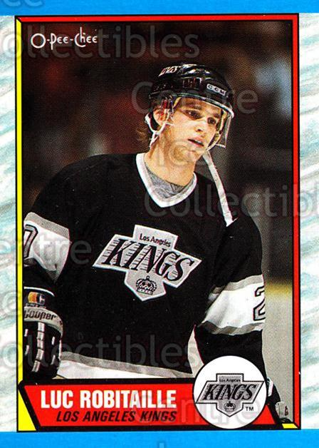 1989-90 O-Pee-Chee #88 Luc Robitaille<br/>7 In Stock - $2.00 each - <a href=https://centericecollectibles.foxycart.com/cart?name=1989-90%20O-Pee-Chee%20%2388%20Luc%20Robitaille...&quantity_max=7&price=$2.00&code=139852 class=foxycart> Buy it now! </a>