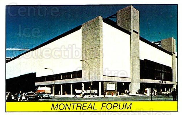 1989-90 Panini Stickers #247 Montreal Forum<br/>1 In Stock - $1.00 each - <a href=https://centericecollectibles.foxycart.com/cart?name=1989-90%20Panini%20Stickers%20%23247%20Montreal%20Forum...&price=$1.00&code=139943 class=foxycart> Buy it now! </a>