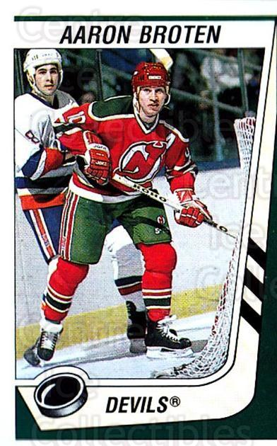 1989-90 Panini Stickers #254 Aaron Broten<br/>3 In Stock - $1.00 each - <a href=https://centericecollectibles.foxycart.com/cart?name=1989-90%20Panini%20Stickers%20%23254%20Aaron%20Broten...&quantity_max=3&price=$1.00&code=139951 class=foxycart> Buy it now! </a>