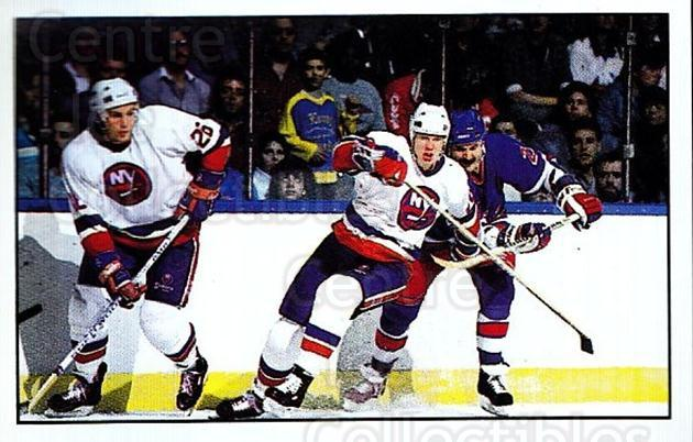 1989-90 Panini Stickers #268 New York Islanders, New York Rangers<br/>4 In Stock - $1.00 each - <a href=https://centericecollectibles.foxycart.com/cart?name=1989-90%20Panini%20Stickers%20%23268%20New%20York%20Island...&quantity_max=4&price=$1.00&code=139965 class=foxycart> Buy it now! </a>
