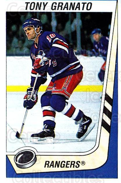 1989-90 Panini Stickers #285 Tony Granato<br/>3 In Stock - $1.00 each - <a href=https://centericecollectibles.foxycart.com/cart?name=1989-90%20Panini%20Stickers%20%23285%20Tony%20Granato...&quantity_max=3&price=$1.00&code=139984 class=foxycart> Buy it now! </a>