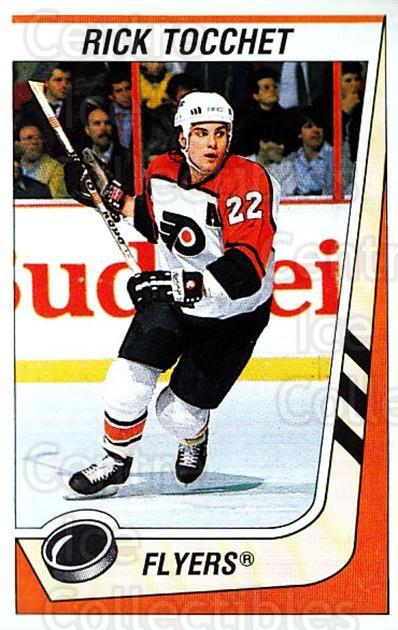 1989-90 Panini Stickers #295 Rick Tocchet<br/>1 In Stock - $1.00 each - <a href=https://centericecollectibles.foxycart.com/cart?name=1989-90%20Panini%20Stickers%20%23295%20Rick%20Tocchet...&quantity_max=1&price=$1.00&code=139995 class=foxycart> Buy it now! </a>