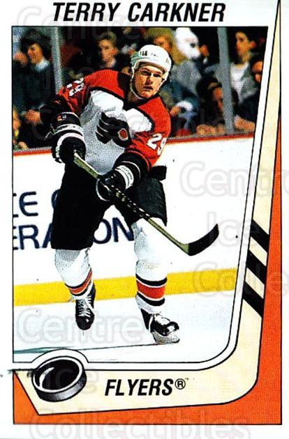 1989-90 Panini Stickers #297 Terry Carkner<br/>3 In Stock - $1.00 each - <a href=https://centericecollectibles.foxycart.com/cart?name=1989-90%20Panini%20Stickers%20%23297%20Terry%20Carkner...&quantity_max=3&price=$1.00&code=139997 class=foxycart> Buy it now! </a>