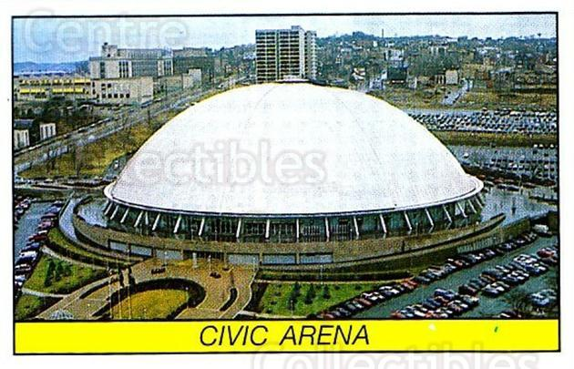 1989-90 Panini Stickers #322 Civic Arena<br/>1 In Stock - $1.00 each - <a href=https://centericecollectibles.foxycart.com/cart?name=1989-90%20Panini%20Stickers%20%23322%20Civic%20Arena...&quantity_max=1&price=$1.00&code=140024 class=foxycart> Buy it now! </a>