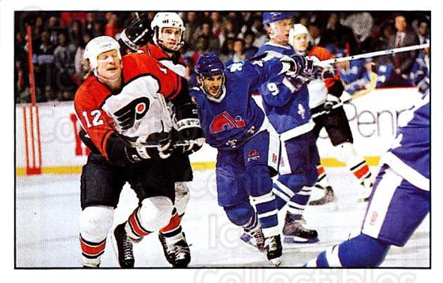 1989-90 Panini Stickers #328 Philadelphia Flyers, Quebec Nordiques<br/>1 In Stock - $1.00 each - <a href=https://centericecollectibles.foxycart.com/cart?name=1989-90%20Panini%20Stickers%20%23328%20Philadelphia%20Fl...&quantity_max=1&price=$1.00&code=140029 class=foxycart> Buy it now! </a>