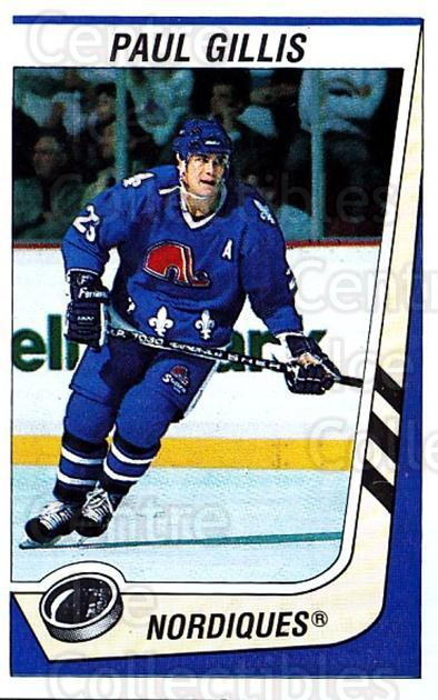 1989-90 Panini Stickers #330 Paul Gillis<br/>4 In Stock - $1.00 each - <a href=https://centericecollectibles.foxycart.com/cart?name=1989-90%20Panini%20Stickers%20%23330%20Paul%20Gillis...&quantity_max=4&price=$1.00&code=140032 class=foxycart> Buy it now! </a>
