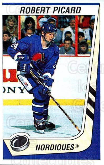 1989-90 Panini Stickers #333 Robert Picard<br/>3 In Stock - $1.00 each - <a href=https://centericecollectibles.foxycart.com/cart?name=1989-90%20Panini%20Stickers%20%23333%20Robert%20Picard...&quantity_max=3&price=$1.00&code=140035 class=foxycart> Buy it now! </a>