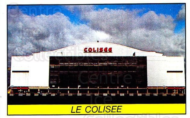 1989-90 Panini Stickers #337 Le Colisee<br/>1 In Stock - $1.00 each - <a href=https://centericecollectibles.foxycart.com/cart?name=1989-90%20Panini%20Stickers%20%23337%20Le%20Colisee...&quantity_max=1&price=$1.00&code=140039 class=foxycart> Buy it now! </a>