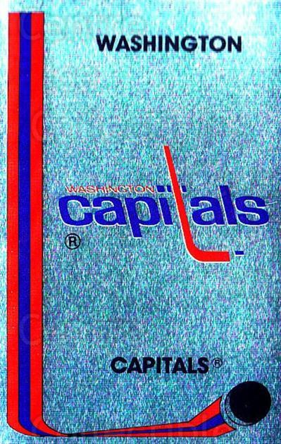 1989-90 Panini Stickers #338 Washington Capitals<br/>2 In Stock - $1.00 each - <a href=https://centericecollectibles.foxycart.com/cart?name=1989-90%20Panini%20Stickers%20%23338%20Washington%20Capi...&quantity_max=2&price=$1.00&code=140040 class=foxycart> Buy it now! </a>