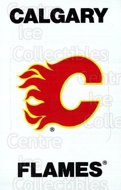 1989-90 Panini Stickers #353 Calgary Flames<br/>2 In Stock - $1.00 each - <a href=https://centericecollectibles.foxycart.com/cart?name=1989-90%20Panini%20Stickers%20%23353%20Calgary%20Flames...&quantity_max=2&price=$1.00&code=140056 class=foxycart> Buy it now! </a>