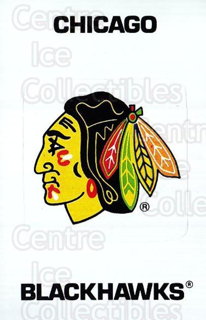 1989-90 Panini Stickers #367 Chicago Blackhawks<br/>2 In Stock - $1.00 each - <a href=https://centericecollectibles.foxycart.com/cart?name=1989-90%20Panini%20Stickers%20%23367%20Chicago%20Blackha...&quantity_max=2&price=$1.00&code=140071 class=foxycart> Buy it now! </a>