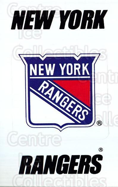 1989-90 Panini Stickers #372 New York Rangers<br/>2 In Stock - $1.00 each - <a href=https://centericecollectibles.foxycart.com/cart?name=1989-90%20Panini%20Stickers%20%23372%20New%20York%20Ranger...&quantity_max=2&price=$1.00&code=140077 class=foxycart> Buy it now! </a>