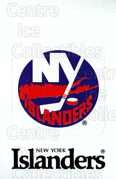 1989-90 Panini Stickers #373 New York Islanders<br/>3 In Stock - $1.00 each - <a href=https://centericecollectibles.foxycart.com/cart?name=1989-90%20Panini%20Stickers%20%23373%20New%20York%20Island...&quantity_max=3&price=$1.00&code=140078 class=foxycart> Buy it now! </a>