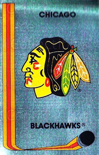 1989-90 Panini Stickers #41 Chicago Blackhawks<br/>1 In Stock - $1.00 each - <a href=https://centericecollectibles.foxycart.com/cart?name=1989-90%20Panini%20Stickers%20%2341%20Chicago%20Blackha...&quantity_max=1&price=$1.00&code=140090 class=foxycart> Buy it now! </a>