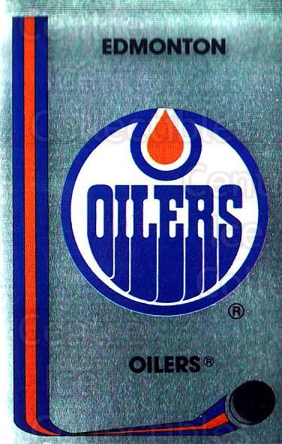 1989-90 Panini Stickers #71 Edmonton Oilers<br/>2 In Stock - $1.00 each - <a href=https://centericecollectibles.foxycart.com/cart?name=1989-90%20Panini%20Stickers%20%2371%20Edmonton%20Oilers...&quantity_max=2&price=$1.00&code=140121 class=foxycart> Buy it now! </a>