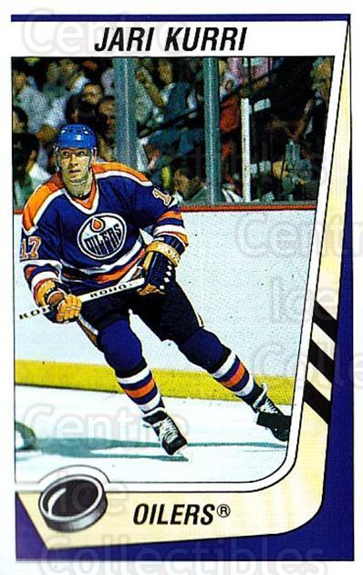 1989-90 Panini Stickers #73 Jari Kurri<br/>1 In Stock - $2.00 each - <a href=https://centericecollectibles.foxycart.com/cart?name=1989-90%20Panini%20Stickers%20%2373%20Jari%20Kurri...&quantity_max=1&price=$2.00&code=140123 class=foxycart> Buy it now! </a>